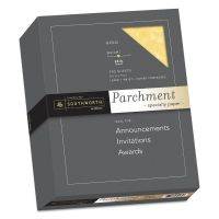 Southworth Parchment Specialty Paper, Gold, 24lb, 8 1/2 x 11, 500 Sheets SOU994C