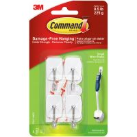 Command Small Wire Hooks 4/Pkg NOTM316271