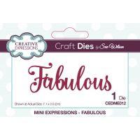 Creative Expressions Craft Dies By Sue Wilson NOTM034481