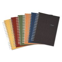 Mead Recycled Notebook, College Ruled, 9 1/2 x 6, 120 Sheets, Perforated, Assorted MEA06674