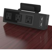 ChargeTech Desktop Outlets Power Strip CRGCT400001