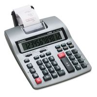 Casio HR-150TM Two-Color Printing Calculator, Black/Red Print, 2.4 Lines/Sec CSOHR150TM