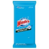 Windex Electronics Cleaner, 25 Wipes SJN642517EA