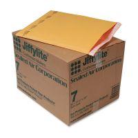 Sealed Air Jiffylite Self Seal Mailer, #7, 14 1/4 x 20, Golden Brown, 50/Carton SEL39098