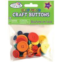 Krafty Kids Craftwood Craft Buttons NOTM399156