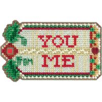 Gift Tag Counted Cross Stitch Kit NOTM052690