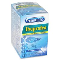 PhysiciansCare Ibuprofen Pain Reliever, Two-Pack, 125 Packs/Box ACM90109