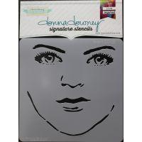"Donna Downey Signature Stencils 8.5""X8.5"" NOTM079564"