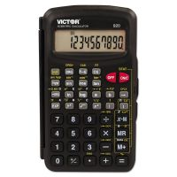 Victor 920 Compact Scientific Calculator with Hinged Case,10-Digit, LCD VCT920