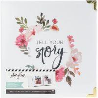 "Heidi Swapp Storyline2 D-Ring Album 8.5""X11"" NOTM380267"