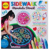 ALEX Toys Artist Studio Sidewalk Mandala with Sweet Stuff Designs Kit NOTM412790