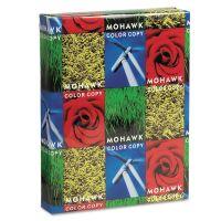 Mohawk Copier Gloss Cover Paper, 94 Brightness, 100 lb, 8 1/2 x 11, Pure White, 250 Sheets/Ream MOW36213