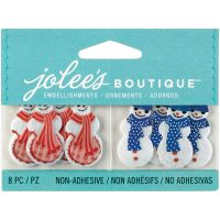 Jolee's Christmas Embellishments 8/Pkg NOTM203606