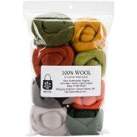 "Wool Roving 12"" .25oz 8/Pkg NOTM367918"