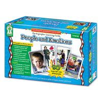 Carson-Dellosa Publishing Photographic Learning Cards Boxed Set, People and Emotions, Grades K-12 CDPD44044