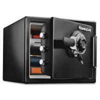 Sentry Safe Fire-Safe  0.8 Cu. Ft. Combination with Key, 16 3/8 x 19 3/8 x 13 3/4, Black SENSFW082DTB