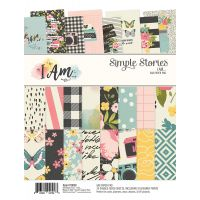 "Simple Stories Double-Sided Paper Pad 6""X8"" 24/Pkg NOTM352239"