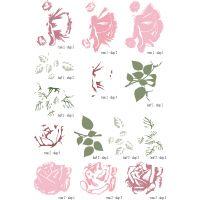 Elizabeth Craft ModaScrap Clear Stamps NOTM095211
