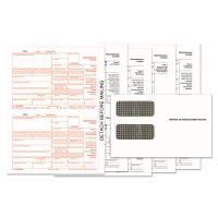 TOPS 1099-MISC Tax Form Kits, 8 x 5 1/2, 5-Part, Inkjet/Laser, 24 1099s & 1 1096 TOP22905KIT