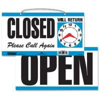 HeadLine Open/Closed 2-sided Sign USS9395