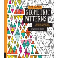 Rockport Books: Just Add Color - Geometric Patterns Coloring Book  NOTM344628