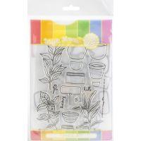 Waffle Flower Stamp & Die Set NOTM250605