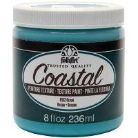 FolkArt Coastal Texture Paint 8oz NOTM435858