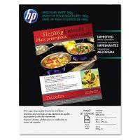 HP Inkjet Brochure/Flyer Paper, 98 Brightness, 48lb, 8-1/2 x 11, White, 150/Pack HEWQ1987A