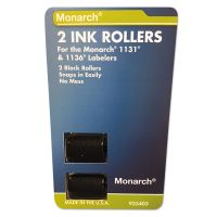 Monarch 925403 Replacement Ink Rollers, Black, 2/Pack MNK925403