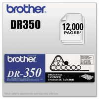 Brother DR350 Drum Unit, Black BRTDR350
