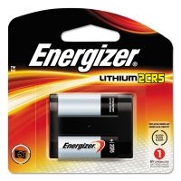 Energizer Lithium Photo Battery, 2CR5, 6V EVEEL2CR5BP