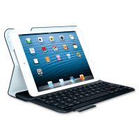 "Logitech Keyboard/Cover Case (Folio) for 7"" iPad mini - Black SYNX3691274"