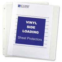 C-Line Side Loading Sheet Protectors CLI61313