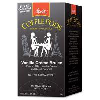 Melitta Coffee Pods, Vanilla Creme Brulee, 18 Pods MLA75416