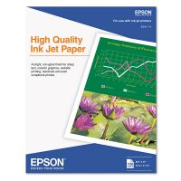 Epson High Quality Inkjet Paper, Matte, 8-1/2 x 11, 100 Sheets/Pack EPSS041111