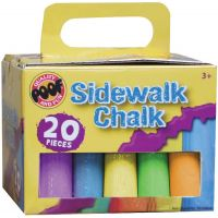 Jumbo Sidewalk Chalk 20/Pkg NOTM209695
