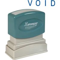 Xstamper VOID One Color Title Stamp XST1117