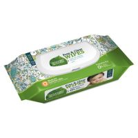 Seventh Generation Free & Clear Baby Wipes, Unscented, White, 64/Pack SEV34208