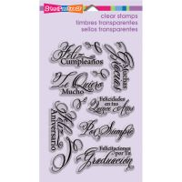 """Stampendous Perfectly Clear Stamps 4""""X6"""" Sheet NOTM462518"""