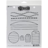 "Dyan Reaveley's Dylusions Cling Stamp Collections 8.5""X7"" NOTM222425"