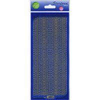 Glitter Dots Assorti Peel-Off Stickers NOTM124864