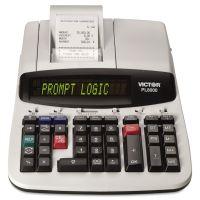 Victor PL8000 One-Color Prompt Logic Printing Calculator, Black Print, 8 Lines/Sec VCTPL8000