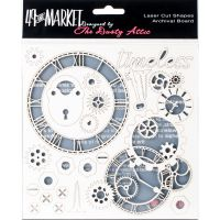 "49 And Market Archival Chipboard 6""X6"" NOTM236351"