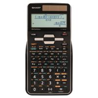 Sharp EL-W516TBSL Scientific Calculator, 16-Digit LCD SHRELW516TBSL