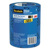 "Scotch Painter's Tape, .94"" x 60yds, 3"" Core, Blue, 6/Pack MMM209024EVP"
