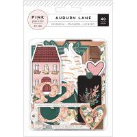 Auburn Lane Ephemera Cardstock Die-Cuts 40/Pkg NOTM432864