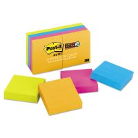 Post-it Notes Super Sticky Pads in Rio de Janeiro Colors, 2 x 2, 90-Sheet, 8/Pack MMM6228SSAU