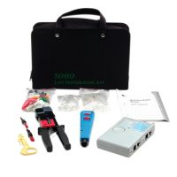 StarTech.com Professional RJ45 Network Installer Tool Kit with Carrying Case SYNX495647