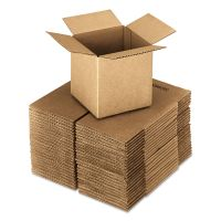General Supply Brown Corrugated - Cubed Fixed-Depth Shipping Boxes, 16l x 16w x 16h, 25/Bundle UFS161616