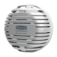 """Rubbermaid Commercial TCell Dispenser, 4.09"""" Diameter x 2.36"""", Chrome RCP1957533"""